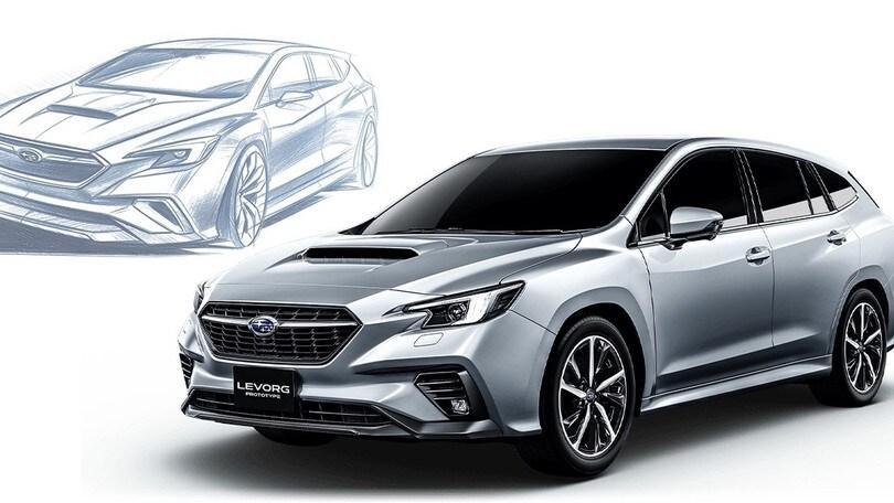 Subaru Levorg Prototype, a Tokyo arriva la seconda generazione