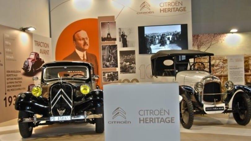 Citroën, due modelli storici esposti al Salone di Padova