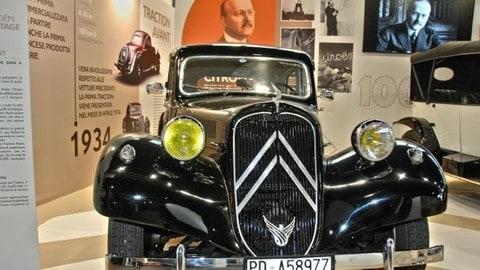 Citroen, esposizione per il Centenario a Auto e Moto d'Epoca: FOTO