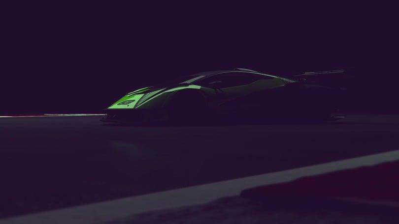 Lamborghini, primo teaser dell'hypercar da 830 cavalli