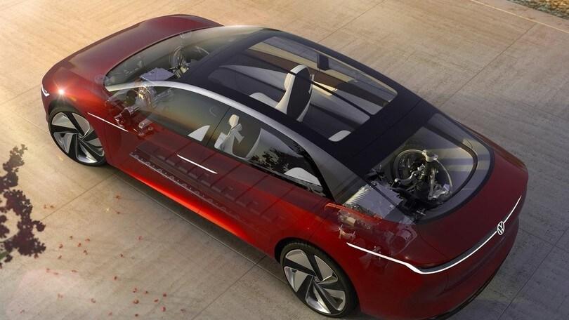 Volkswagen ID. Concept, un'evoluzione Vizzion sull'ammiraglia
