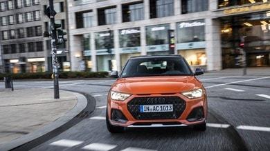 Audi A1 Citycarver, la prova