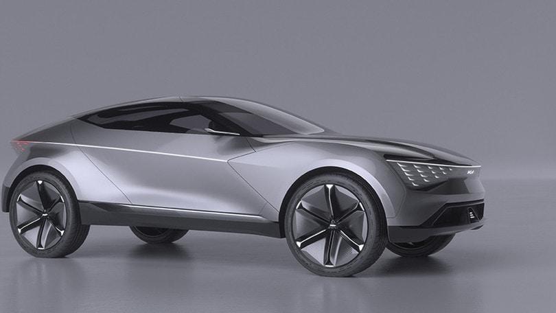 Kia Futuron Concept, suv-coupé dal volto di tigre