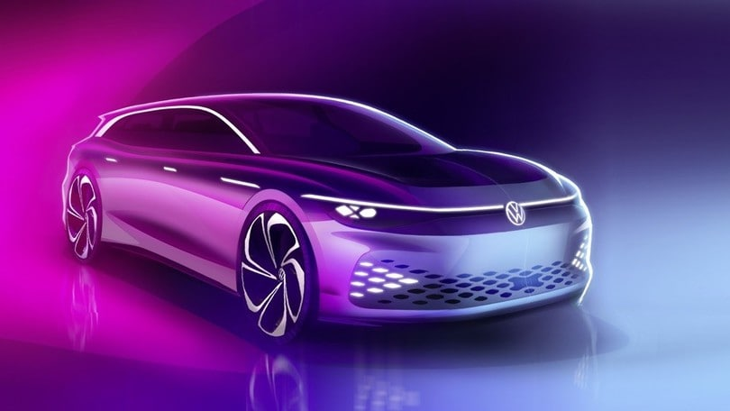 Volkswagen ID. Space Vizzion, è wagon ed elettrica la settima ID