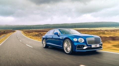 Nuova Bentley Flying Spur: foto
