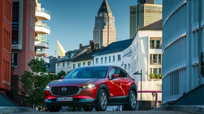 Mazda CX-30 e Mazda 3 tra le protagoniste di Car of the Year 2020