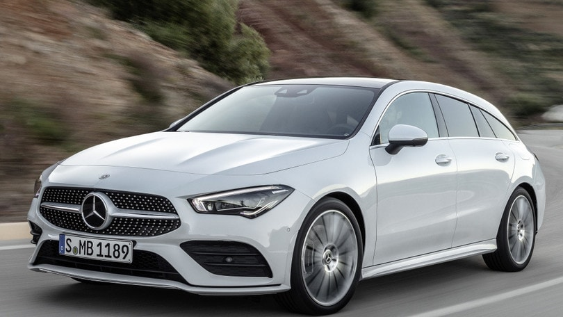 Mercedes CLA Shooting Brake: VIDEO
