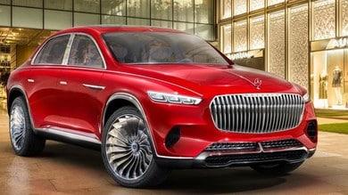 Mercedes-Maybach suv sceglie la Cina per l'esordio