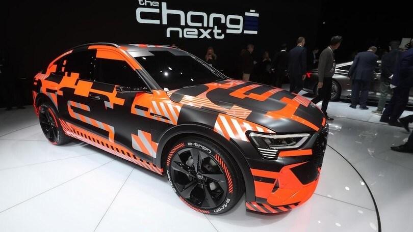 Audi e-tron Sportback debutta al Salone di Los Angeles