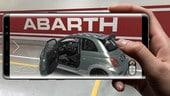 Nuova Abarth 695, un'app per scoprirla con la realtà aumentata