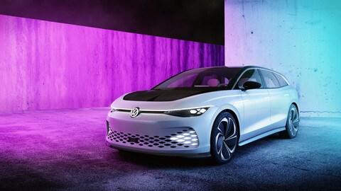 Volkswagen ID. Space Vizzion Concept: foto