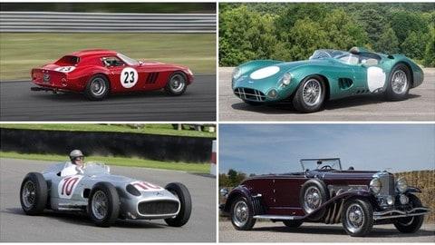 Le 10 auto storiche più costose vendute all'asta: FOTO