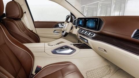 Mercedes Maybach GLS: foto