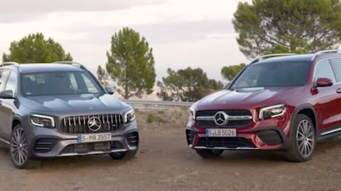 Mercedes GLB e Mercedes-AMG GLB 53 4Matic a confronto: VIDEO