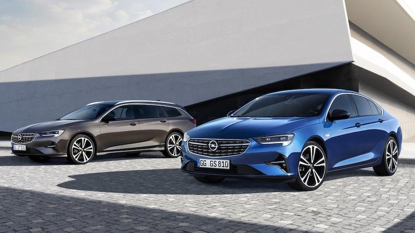 Opel Insignia restyling, luce sul 2020 con i nuovi fari full led Pixel
