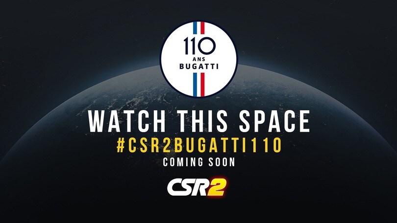 Bugatti, partnership con CSR Racing 2