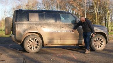 Nuova Land Rover Defender: prova al limite
