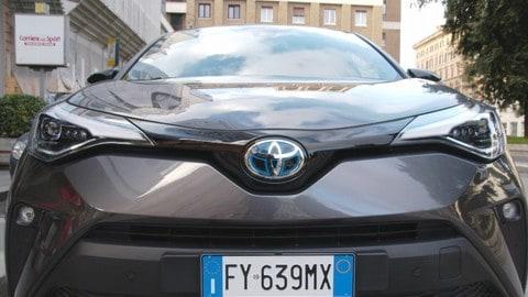 Test Drive Experiences: la prova di Roma del nuovo Toyota C-HR Hybrid