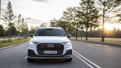Audi Q7 ibrida plug-in: foto