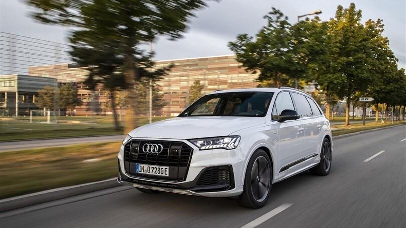 Audi Q7 e quattro, ibrido plug-in in due salse da inizio 2020