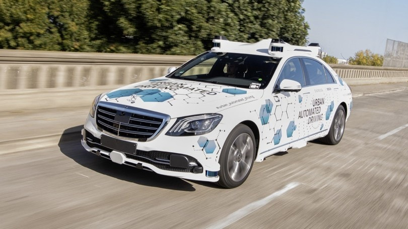 Bosch e Mercedes, guida autonoma nella Silicon Valley