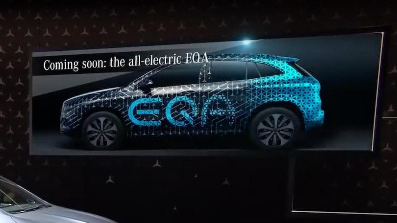 Mercedes EQA, da GLA la versione elettrica nel 2020