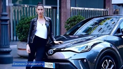 Nuovo Toyota C-HR Hybrid al test drive di Vallelunga