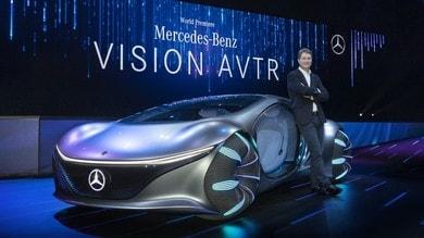 Mercedes Vision AVTR, natura e hi-tech in equilibrio al CES 2020