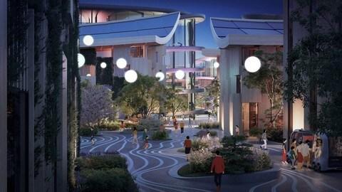 Woven City, la città prototipo di Toyota: FOTO