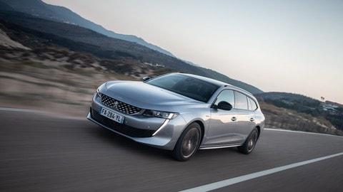 Test Drive Peugeot 508 BlueHDi 160: FOTO
