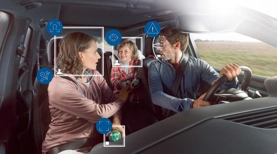 Bosch, telecamere ed intelligenza artificiale per controllare l'equipaggio