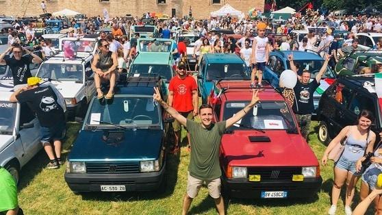 Fiat Panda, raduno a Vigevano per i 40 anni