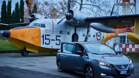 Nissan Leaf e+: immagini