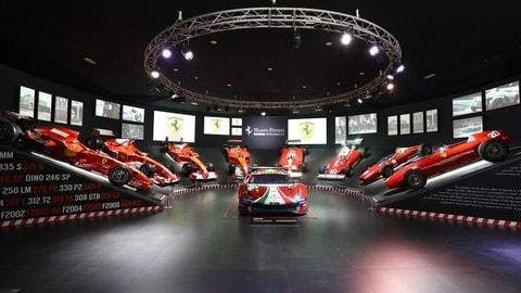 Ferrari alla 24 Ore di Le Mans, la mostra a Maranello: FOTO