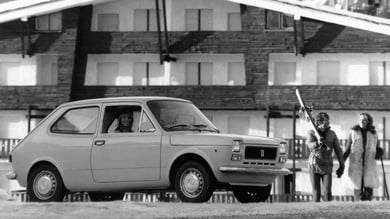 Fiat 127, indimenticabile Car of the Year nel 1972
