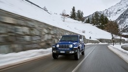Jeep Wrangler Sahara Unlimited: FOTO
