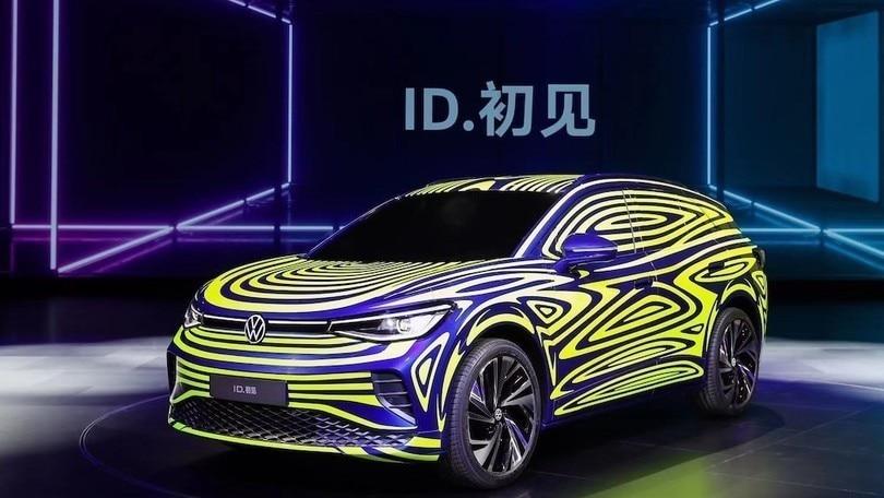 Volkswagen ID.4, il suv elettrico atteso a New York
