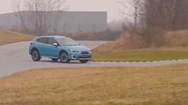 Subaru XV e-boxer, test su strada: VIDEO