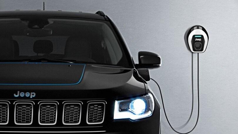 Jeep Renegade e Compass ibride plug-in: foto