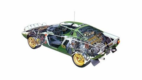 Lancia Stratos nei rally: nata per vincere FOTO