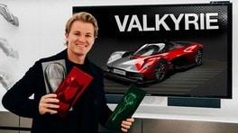Nico Rosberg personalizza Aston Martin Valkyrie VIDEO