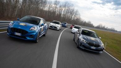 Con Auto le vetture finaliste di Car of the Year esposte e in prova a Milano e Courmayeur