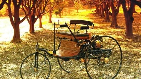 Benz Patent-Motorwagen FOTO