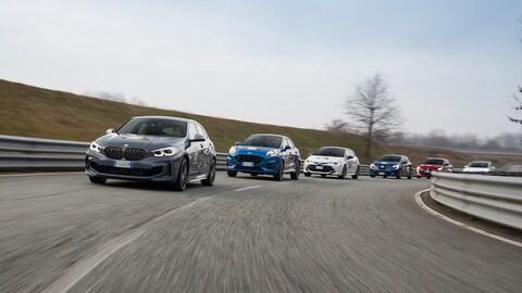 Car of the Year 2020: le foto delle finaliste in pista