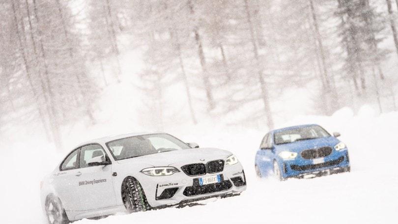 Bmw Driving Experience 2020, come si guida su ghiaccio e neve