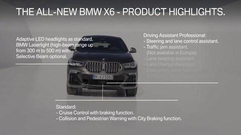 BMW X6, i segreti della terza generazione VIDEO