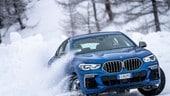 BMW X6, il nuovo SUV coupé alla prova del gelo