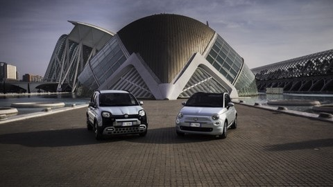 Nuove Fiat 500 Hybrid e Panda Hybrid FOTO