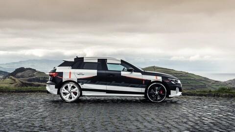 Nuova Audi A3 Sportback, prototipo FOTO