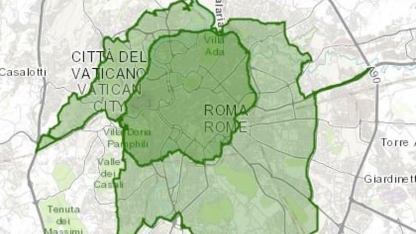 Cartina Della Fascia Verde A Roma.Roma Il 9 Febbraio Seconda Domenica Ecologica Auto It